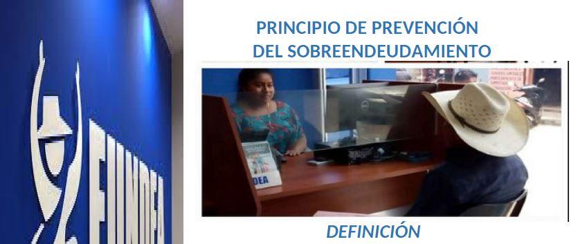 Principios de Protección al Cliente: Sobreendeudamiento